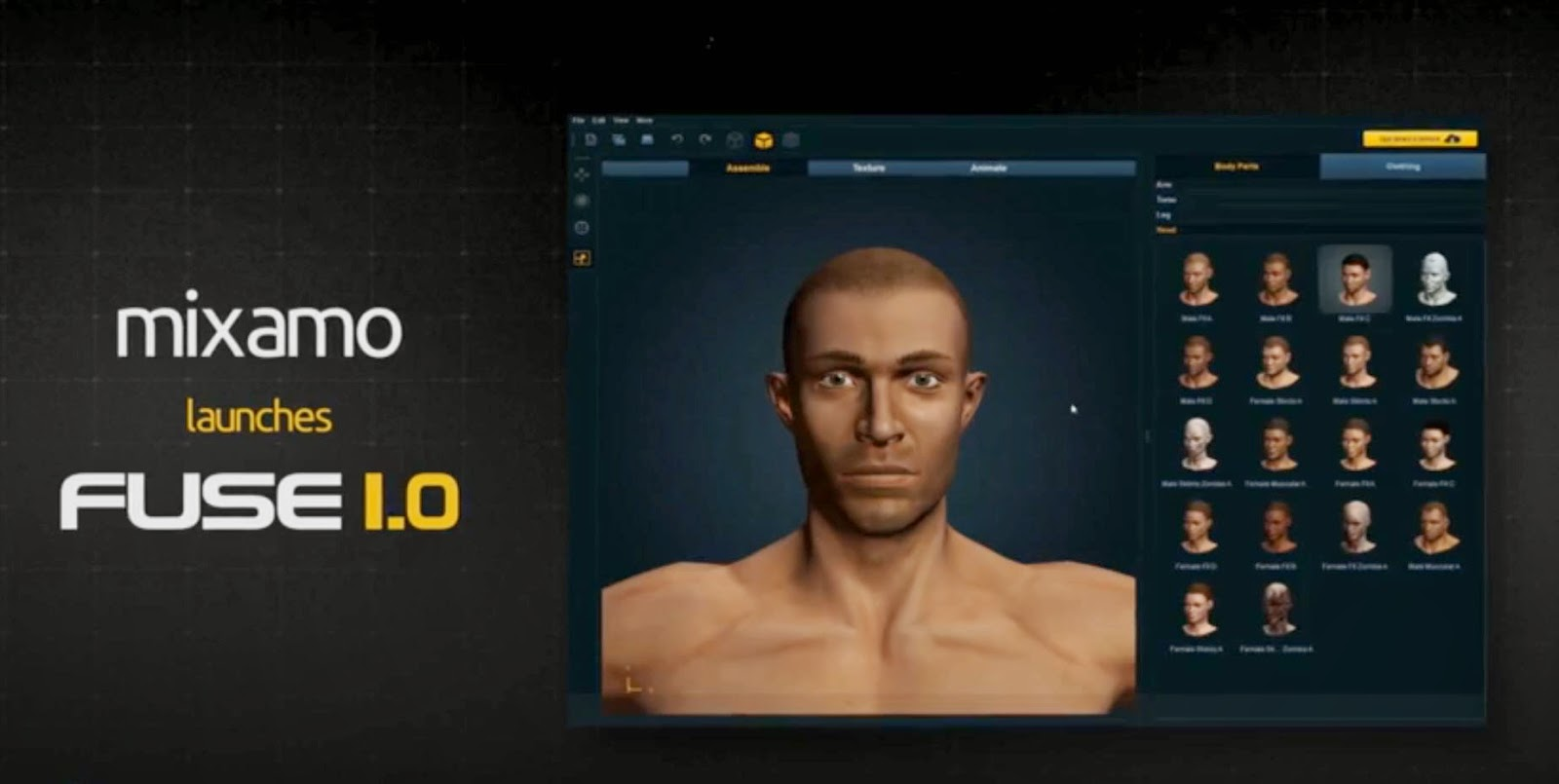 Fuse Character Creator Mods
